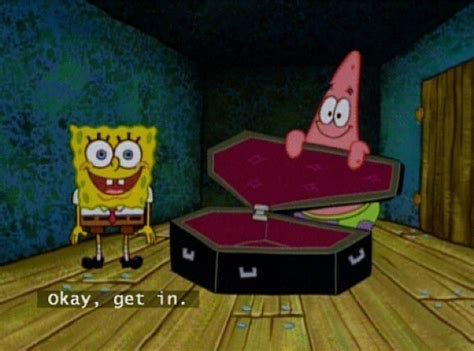 Casket Meme - spongebob coffin blank template imgflip