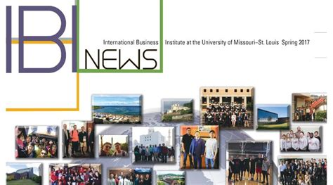Mba Requirements Umsl by International Business Institute