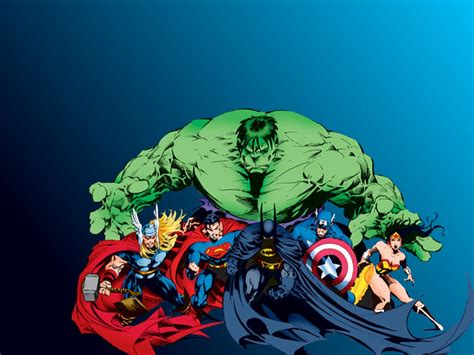 Captain Americahulksupermanbatmanironmanthor Batman Vs Superman Batman Vs Superman Vs Vs