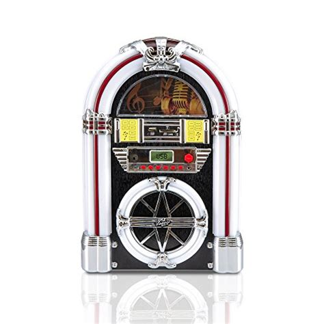 Led Lights For Jukebox | pyle pjub25bt bluetooth jukebox mp3 speaker player led