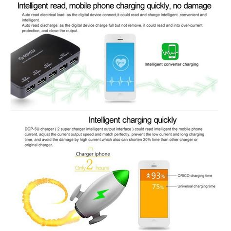 Ad2627 Orico Usb Wall Travel Charger 5 Port Dcp5u Kode Gute2493 orico usb wall travel charger 5 port dcp 5u black