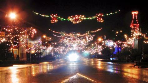 the lights are on in ladysmith sechelt lights up saturday