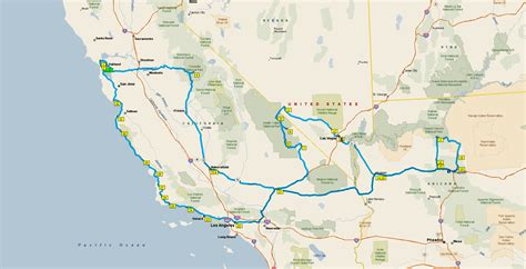 california map road trip california road trip map afputra