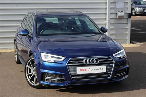 Audi A4 Avant Quattro S Line by Used 2018 Audi A4 Avant S Line 3 0 Tdi Quattro 218 Ps S
