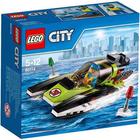 lego boat pieces lego city race boat set 95 pieces hobbycraft