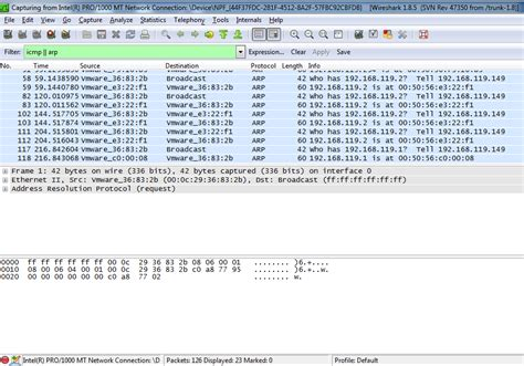 wireshark command tutorial project 16 detecting promiscuous nics with arp 15 pts