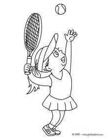 tennis color tennis coloring pages barriee