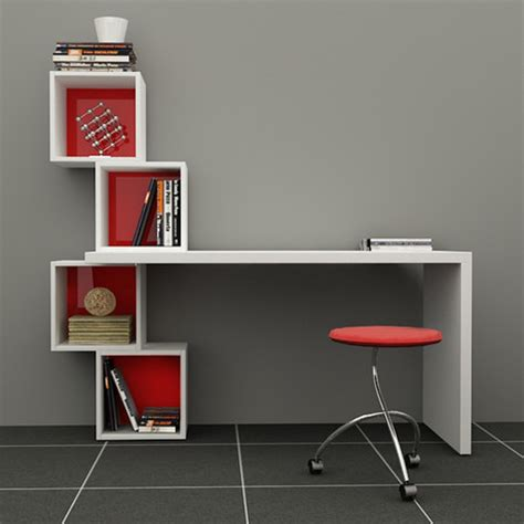 balanced desk bookcase white turkish shelving