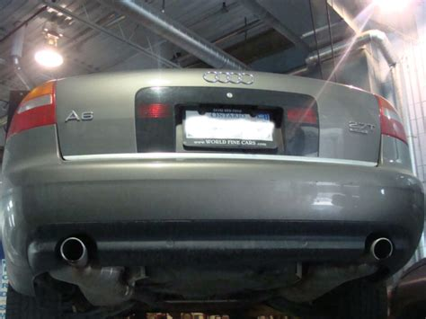 2003 Audi A6 2.7L Front Flex Pipe Modification Audi Forum Audi Forums for the A4, S4, TT, A3