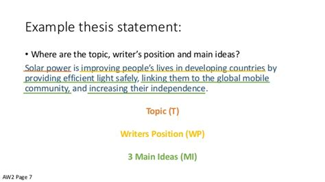 introductory paragraphs  thesis statements