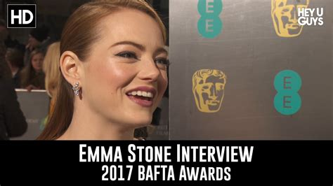 emma stone youtube interview emma stone interview bafta awards 2017 la la land