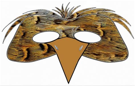 printable bird mask 8 best images of printable bird mask printable bird mask