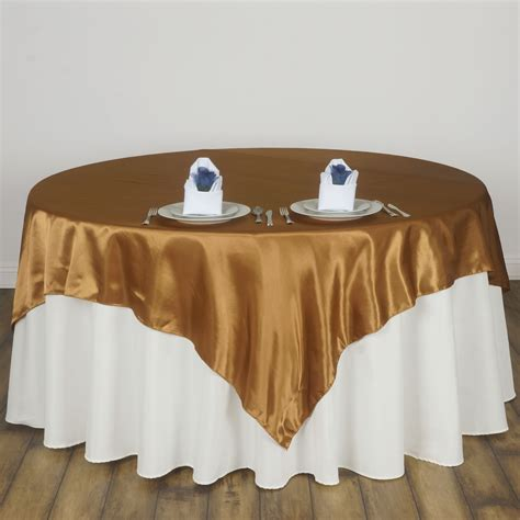 72x72 Quot Square Satin Table Overlays Wedding Party Linens Table Overlays For Wedding