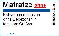 matratze ohne zonen kaltschaummatratze ohne liegezonen - Matratze Ohne Zonen