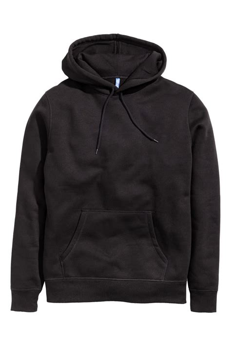 Hoodie H M By Imbong hooded sweatshirt black sale h m us