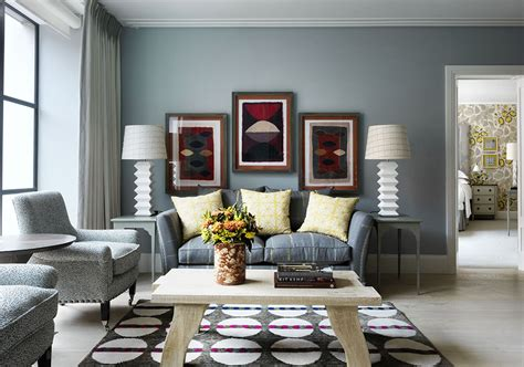 blue living room color schemes ham yard hotel london hospitality interiors magazine