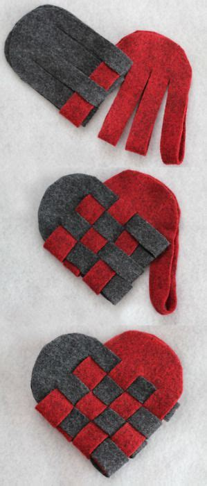choosing a color scheme these paper hearts diy woven danish heart baskets i really love this craft