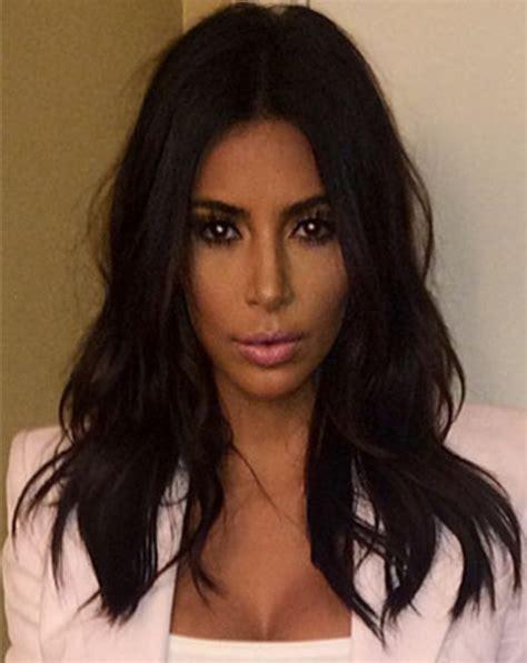 kimkardashian short hair short layered curly hair 2014 short hairstyle 2013