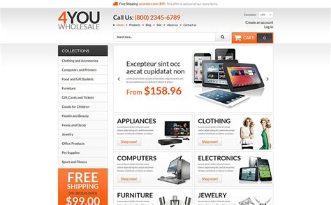 shopify wholesale theme wholesale store responsive shopify theme 54840