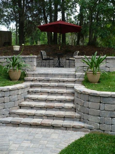 backyard retaining wall 17 best images about retaining wall on pinterest diy