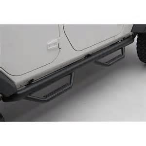 n fab smittybilt nerf side step 1 bar 07 14 jeep
