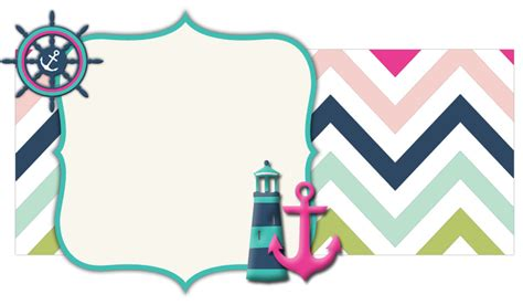 nautical banner chevron pattern the cutest blog on the