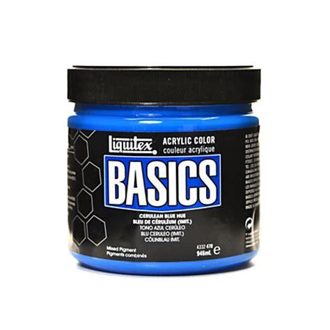 liquitex acrylic paint quality liquitex basics acrylic paint 32 oz jar cerulean blue hue
