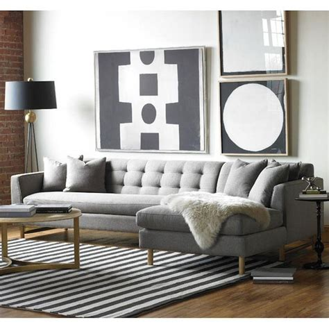 keaton sectional sofa best 25 l shaped living room ideas on pinterest grey l