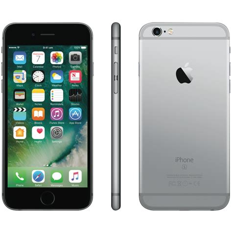 Apple Iphone apple mkqn2x a iphone 6s 64gb space grey at the guys