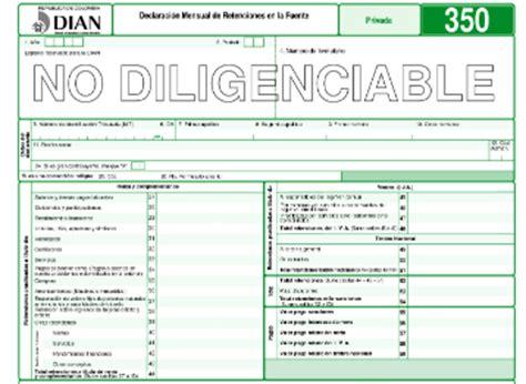 formato declaracion retenciones en la fuente 2015 listos los formularios para pagar los impuestos nacionales