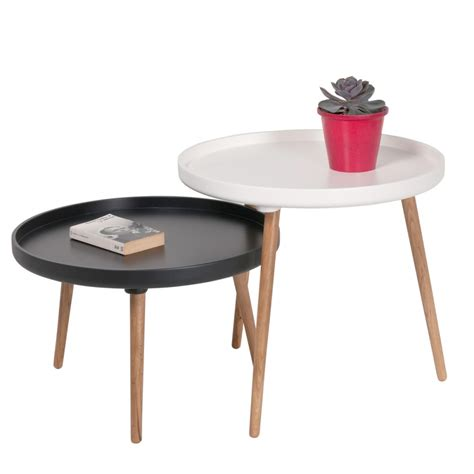 Charmant Chaise De Jardin Noire #4: table-basse-ronde-cosy-et-lounge-kompass-o90.jpg