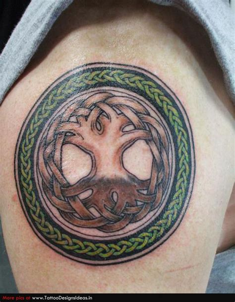 celtic circles tattoo designs tree of design 187 ideas