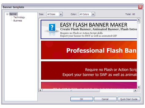 Flash Banner Maker Screenshots Bannker Design Banner Creator Banner Template Maker