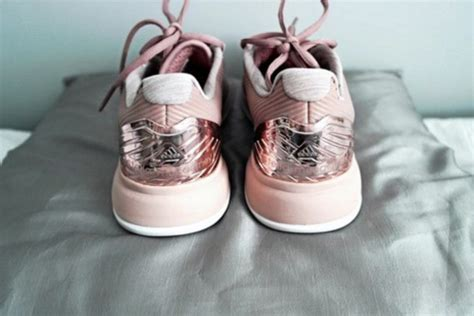 shoes adidas adidas shoes sneakers low top sneakers ros 233 pink metallic wheretoget