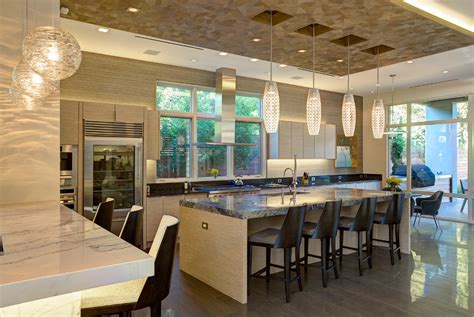 Pendulum Lighting In Kitchen 10 Kitchen Glass Tile Backsplash Pictures