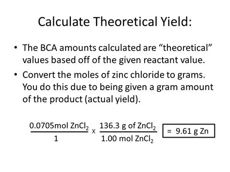 calculator yield unit 8 percent yield calculations ppt download