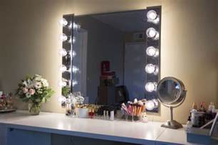 Vanity Mirror With Lights How To Glam Diy Lighted Vanity Mirrors Decorating Your Small Space