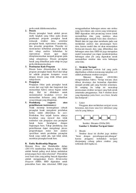 jurnal desain database jurnal sistem informasi penjualan dreamcatcher berbasis web