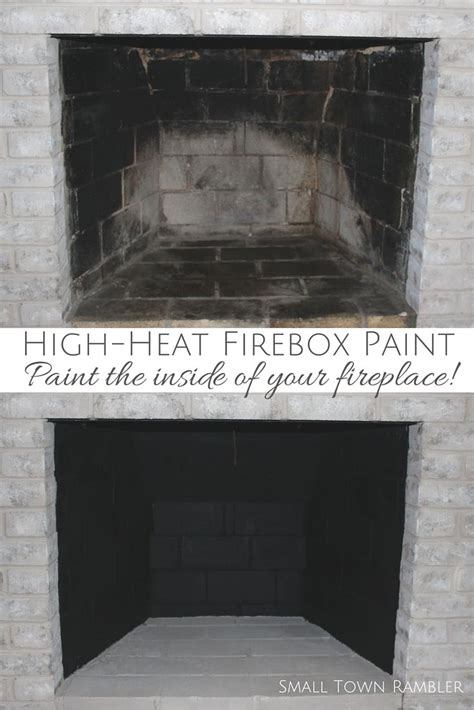 1000 ideas about paint fireplace on painted
