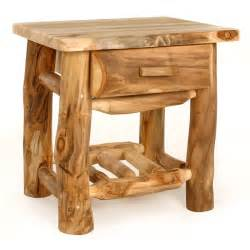 Log Furniture by Log Furniture Nightstands Building A Home