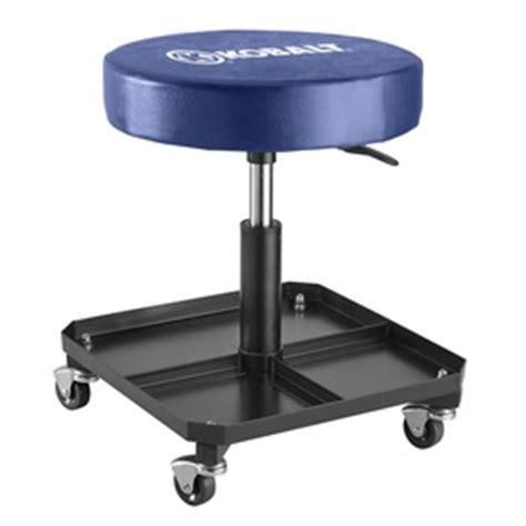 shop kobalt pneumatic creeper stool at lowes