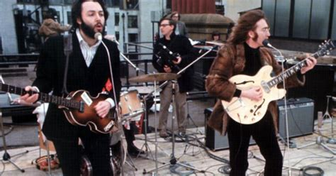 the beatles don t let me down rooftop the beatles don t let me down rooftop performance