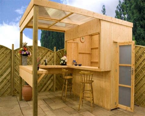 backyard sheds turned  private speakeasy pubs