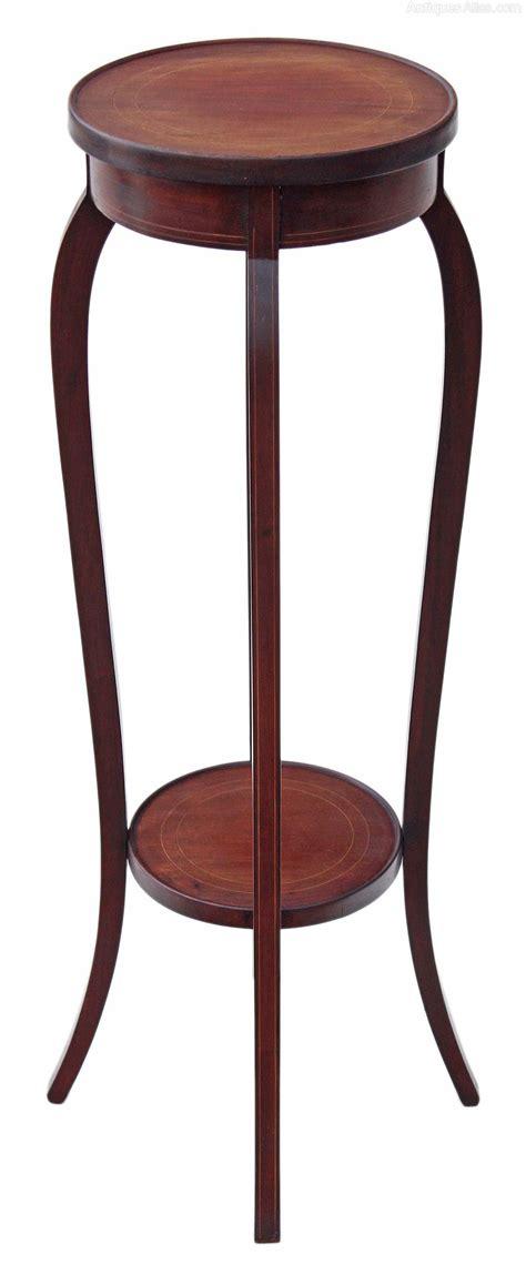 Standing Planter Tinggi 30cm Diameter 20cm edwardian inlaid mahogany plant stand jardiniere antiques atlas