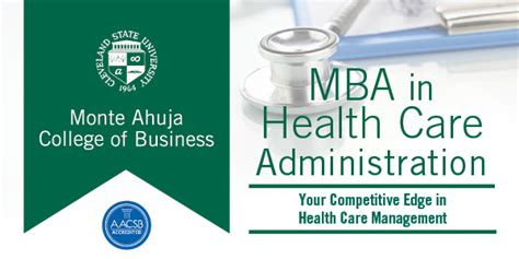 Mba Healthcare Management Prerequisites by Health Care Administration Mba Cleveland State