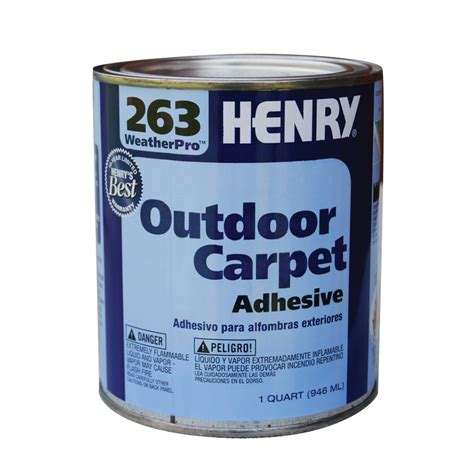 rug adhesive buy the ardex henry 263 qt outdoor carpet adhesive at hardware world