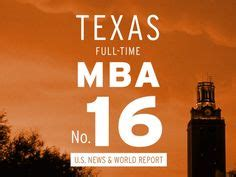 Mccombs Part Time Mba by Of Values Vintage Poster Series