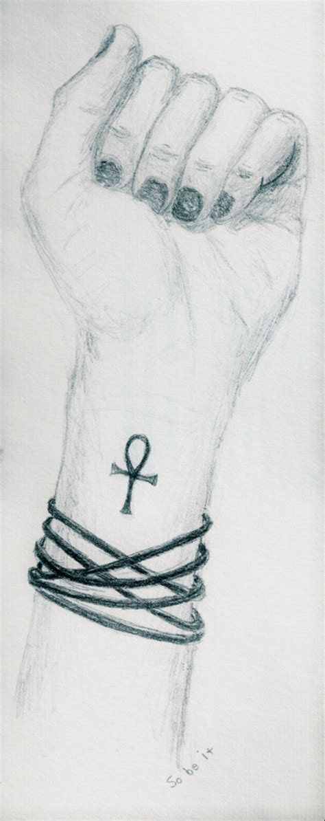 ankh tattoo on wrist tiny black ankh on wrist for tattooshunt