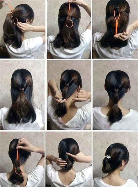 easy steps to make easy hairstyles how to make easy hair style fast step by step diy tutorial