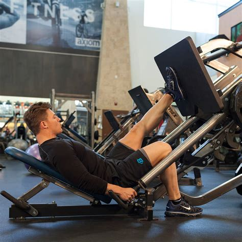 Incline Leg Press Sled Weight by Single Leg Press Exercise Guide And